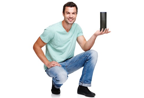 Guy Holding Echo
